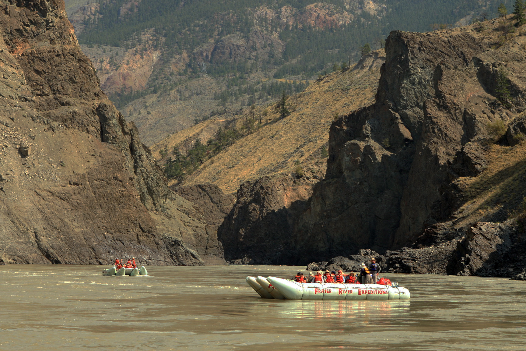 Fraser River Raft Expeditions base