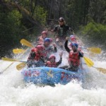 Nahatlatch Double Run Paddle Rafting