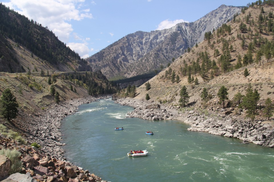 Fraser River Rafting Expeditions