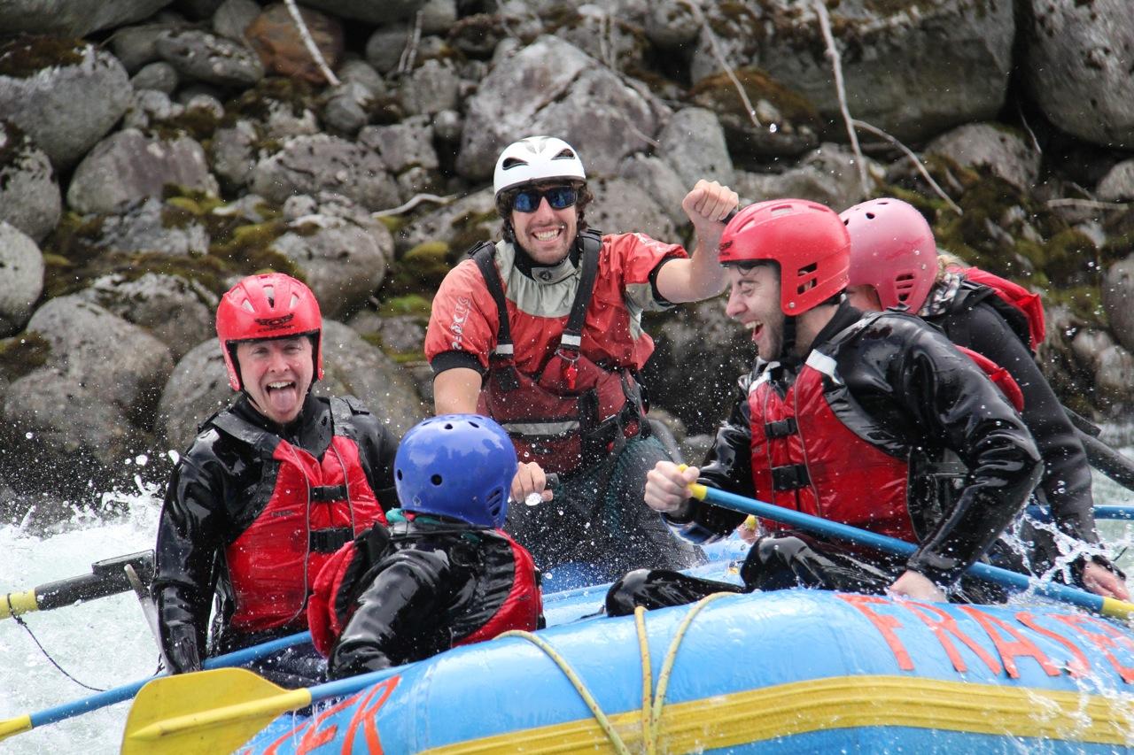 Fraser River Rafting - 11