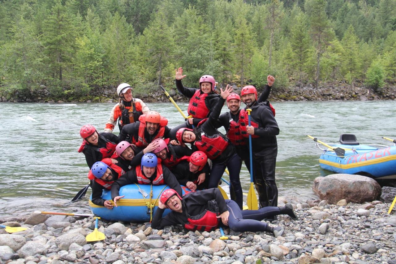 Fraser River Rafting - 12