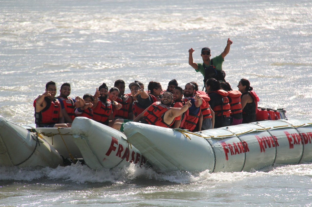 Fraser River Rafting - 15