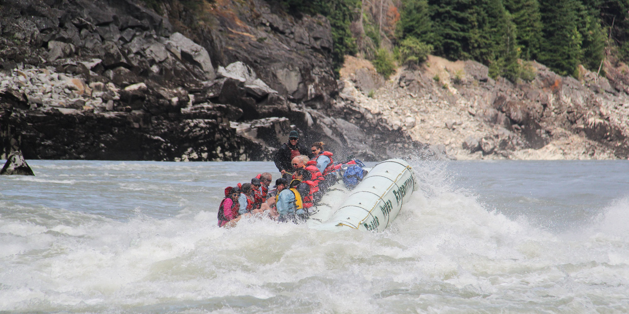 Fraser River Rafting